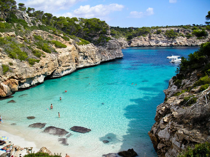 fishingtripmajorca.co.uk boat tours in Cala del Moro Majorca