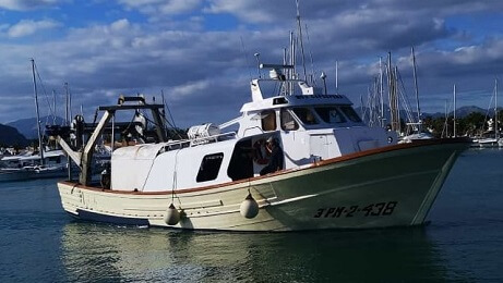 www.fishingtripmajorca.co.uk boat tours in Majorca with Capdepera
