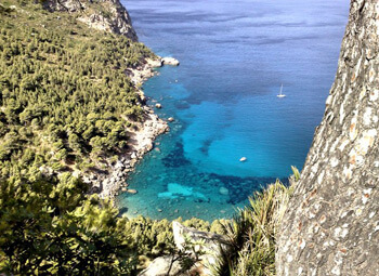 fishingtripmajorca.co.uk boat trips to Cala Ortigues in Majorca